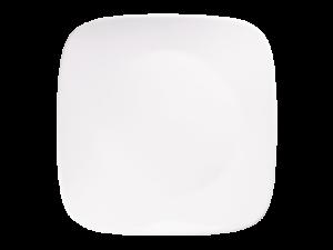 コレール ウインターフロストホワイト スクエア大皿J2213-N