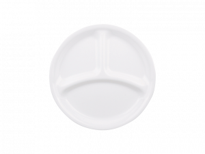 コレール ウインターフロストホワイト ランチ皿(小)J385-N