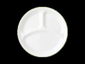 コレール タフホワイト(リーフ) ランチ皿(大)J310-CRG