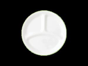 コレール タフホワイト(リーフ) ランチ皿(小)J385-CRG